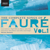 Album artwork for The Complete Songs of Faure, Vol.1
