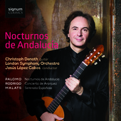Album artwork for NOCTURNOS DE ANDALUCIA
