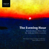 Album artwork for EVENING HOUR