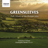 Album artwork for Greensleeves - Folk Music of the British Isles
