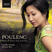 Album artwork for Poulenc: Works for Piano Solo and Duo
