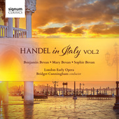 Album artwork for Handel in Italy Vol. 2