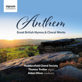 Album artwork for Anthem - Great British Hymns & Choral Works