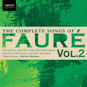 Album artwork for The Complete Songs of Faure, Vol. 2