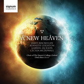 Album artwork for A New Heaven - Works by MacMillan, Leighton