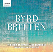 Album artwork for Byrd - Britten