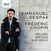 Album artwork for Chopin: 24 Preludes, Berceuse, Barcarolle