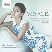 Album artwork for Voyages / Mary Bevan