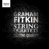 Album artwork for Fitkin: String Quartets