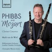 Album artwork for Phibbs & Mozart: Clarinet Concertos