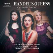Album artwork for Handel's Queens / Lucy Crowe, Mary Bevan 2-CD