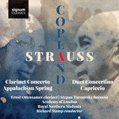 Album artwork for Strauss: Duet Concertino, Prelude to Capriccio - C