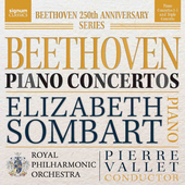 Album artwork for Beethoven: Piano Concertos Nos. 1-5 - Triple Conce