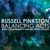 Album artwork for Russell Pinkston: Balancing Acts