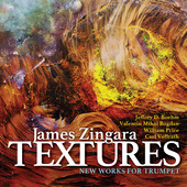 Album artwork for Textures: New Works for Trumpet