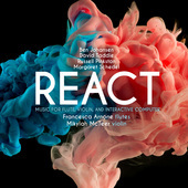 Album artwork for React: Music for Flute, Violin & Interactive Compu