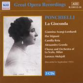 Album artwork for Ponchielli: La Gioconda / La Scala 1931