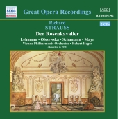 Album artwork for DER ROSENKAVALIER