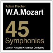 Album artwork for Mozart: 45 SYMPHONIES