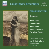 Album artwork for GREAT OPERA RECORDINGS; LOUISE