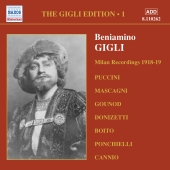 Album artwork for GIGLI EDITION, VOLUME 1