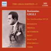 Album artwork for BENIAMINO GIGLI, VOL. 5