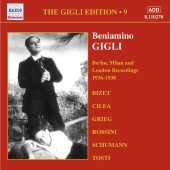 Album artwork for BENIAMINO GIGLI - VOLUME 9