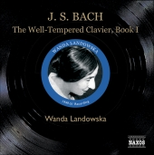 Album artwork for THE WELL-TEMPERED CLAVIER, BOOK 1