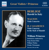 Album artwork for BERLIOZ, WALTON, CASADESUS
