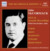 Album artwork for THE MCCORMACK EDITION VOL. 4: THE ACOUSTIC RECORDI