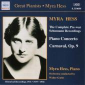 Album artwork for GREAT PIANISTS - MYRA HESS