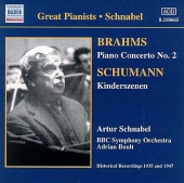 Album artwork for SCHNABEL PLAYS BRAHMS AND BEEHOVEN