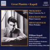 Album artwork for GREAT PIANISTS.KAPELL