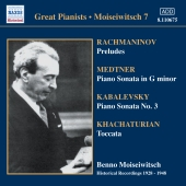 Album artwork for BENNO MOISEIWITSCH EDITION, VOLUME 7