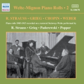 Album artwork for WELTE-MIGNON PIANO ROLLS, VOLUME 2