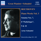 Album artwork for BEETHOVEN PIANO WORKS VOL. 3