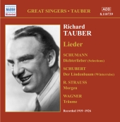 Album artwork for TAUBER: LIEDER
