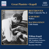 Album artwork for BEETHOVEN, SCHUBERT & RACHMANINOV