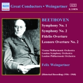 Album artwork for BEETHOVEN: SYMPHONIES 1 & 2