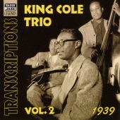 Album artwork for TRANSCRIPTIONS, VOL. 2 1939 / Nat King Cole Trio