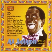 Album artwork for AL JOLSON VOL. 2