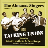 Album artwork for TALKING UNION - THE ALMANAC SINGERS