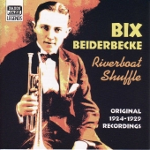Album artwork for BIX BEIDERBECKE - RIVERBOAT SHUFFLE