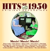 Album artwork for HITS OF 1950 MUSIC! MUSIC! MUSIC!