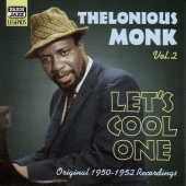 Album artwork for THELONIOUS MONK VOL. 2 'LET'S COOL ONE'