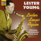 Album artwork for LESTER LEAPS AGAIN