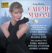 Album artwork for CALL ME MADAM: MUSIC & LYRICS BY IRVING BERLIN
