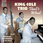 Album artwork for THAT'S WHAT: ORIGINAL 1943-1947 RECORDINGS
