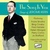 Album artwork for SONG IS YOU, THE - SONGS OF JEROME KERN