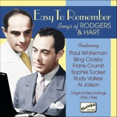Album artwork for SONGS OF RICHARD RODGERS & LORENZ HART: EASY TO RE